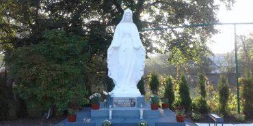 У Коломиї освятили скульптуру Матері Божої. ФОТО
