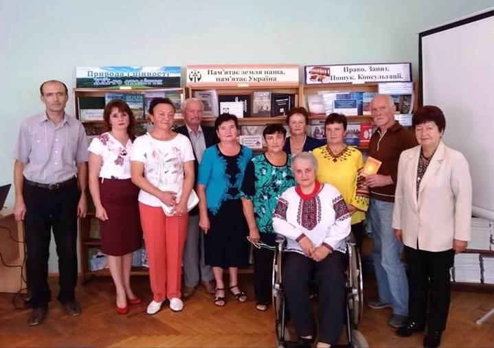 Письменниця з Коломиї презентувала чергову книжку