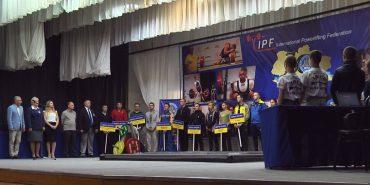 У Коломиї триває чемпіонат України з пауерліфтингу. ВІДЕО