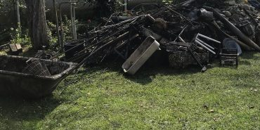 На обійсті мишинського сільського голови сталася пожежа – згоріли меблі, техніка, будматеріали. ФОТО