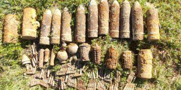 Снаряди, міни і гранати: на Коломийщині знайшли 26 вибухонебезпечних предметів
