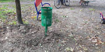 Ремонт вулиць і нові смітники у парку: коломийські комунальники звітують про роботу. ФОТО