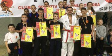 Юні каратисти з Прикарпаття вибороли 11 медалей на міжнародному турнірі. ФОТО