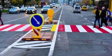 Відтепер обов'язковим є облаштування острівців безпеки на нерегульованих пішохідних переходах