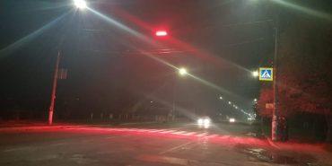 У Коломиї встановлюють освітлення на пішохідних переходах. ФОТОФАКТ