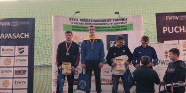Коломиянин Денис Сагалюк виборов золото на міжнародному турнірі з вільної боротьби