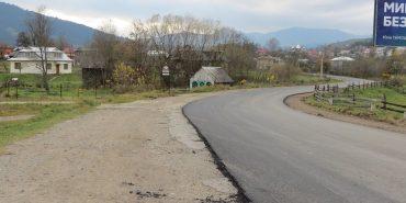 У Верховині відремонтували зруйновану об'їзну дорогу. ФОТОФАКТ