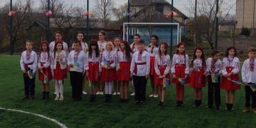 На Городенківщині за півтора мільйона гривень відкрили спортивний майданчик