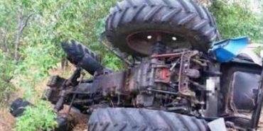 У Снятині трактор зірвався в обрив, 30-річний тракторист загинув на місці