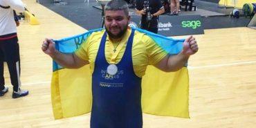 Ветеран АТО здобув срібну медаль для української збірної з пауерліфтингу