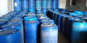 На Прикарпатті виявили 20 тонн контрафактного спирту