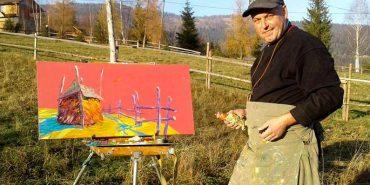 """""""Розповідь одного кольору"""": сьогодні у Коломиї відкриють виставку Романа Лучука. АНОНС"""