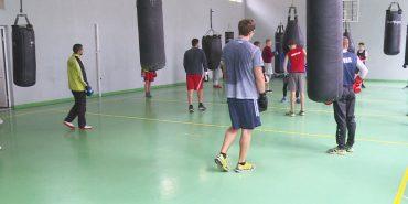 У Коломиї тренувалися боксери збірної України. ВІДЕО