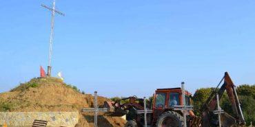 На Прикарпатті реконструюють меморіальний сквер воїнам національно-визвольної боротьби. ФОТО