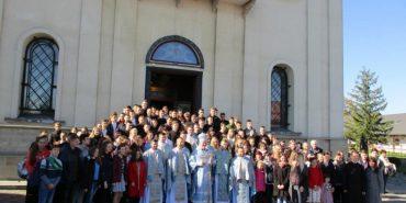 У Гошеві пройшла Всеукраїнська студентська проща. ФОТО