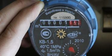 Водоканал просить коломиян подавати показники лічильника. Алгоритм дій