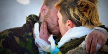 Бойовий командир з Прикарпаття знайшов свою кохану в зоні АТО. ВІДЕО