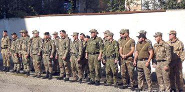 Прикарпатські поліцейські повернулись зі Сходу. ФОТО