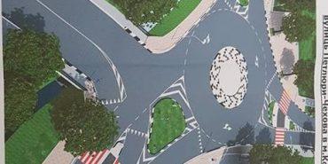 Як виглядатиме перехрестя вулиць Петлюри – Чехова після реконструкції. ПРОЕКТ