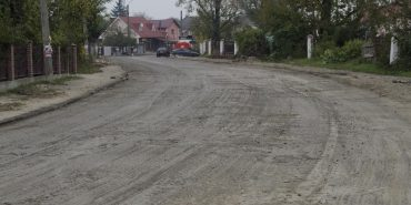 У Коломиї ремонтують дорогу до нічного ринку. ФОТО