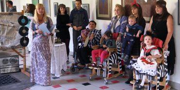 У Коломиї провели ретро-вечірку для дітей з інвалідністю. ВІДЕО