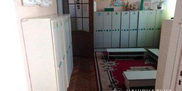 На Франківщині у дитячому садку затримали грабіжника. ФОТО
