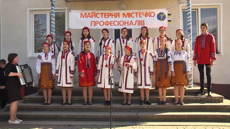 На Коломийщині організували святковий захід - Містечко професій. ВІДЕО
