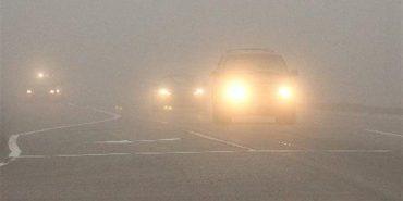Синоптики закликають водіїв бути обережними: на дорогах туман