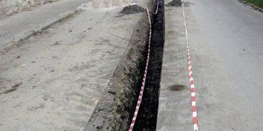 На вул. Валовій у Коломиї розпочали реконструкцію водогону. ФОТОФАКТ