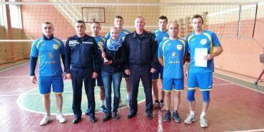 Коломийські рятувальники посіли 1-ше місце на обласних змаганнях з волейболу. ФОТО