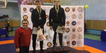 """Спортсмени з Коломиї отримали """"золото"""" і """"бронзу"""" на Всеукраїнському турнірі з вільної боротьби"""
