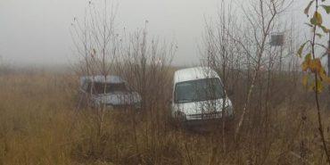 Поблизу Коломиї два автомобілі злетіли з траси. ФОТО