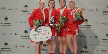 """Прикарпатка здобула """"срібло"""" на Чемпіонаті світу з боротьби самбо. ФОТО"""