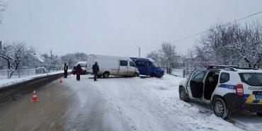 На Прикарпатті зіткнулися три автівки. ФОТО