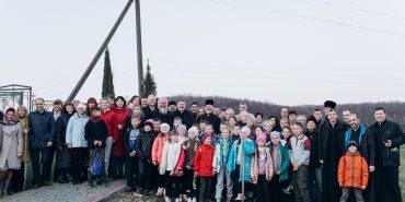 Першу в Україні Алею ненародженої дитини посадили на Прикарпатті. ФОТО