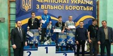 Ілля Шкетик з Коломиї став чемпіоном України з вільної боротьби. ФОТО