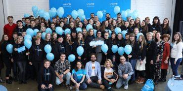 Школярі з Коломиї взяли участь у створенні Всеукраїнського маніфесту проти насильства дітей. ФОТО