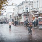 Снігопад в Коломиї (1)