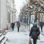 Снігопад в Коломиї (8)