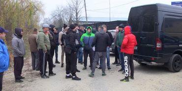 Мирний протест у Коломиї: водії обурені тарифами на розмитнення автівок. ВІДЕО