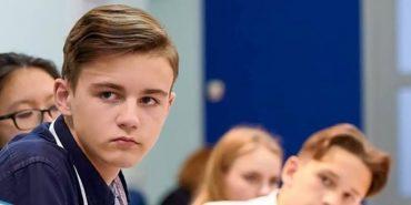 """Учень коломийської ЗОШ №2 відвідав філософський семінар від """"Klitschko Foundation"""". ВІДЕО"""