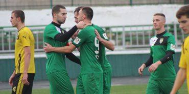 """Коломийське """"Покуття"""" з рахунком 7:0 розгромило команду з Хмельницького. ФОТО"""