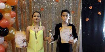 Юні прикарпатці здобули перемогу на Всеукраїнських змаганнях зі спортивного танцю. ФОТО