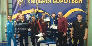 Юний коломиянин виборов бронзу на чемпіонаті України з вільної боротьби. ФОТО