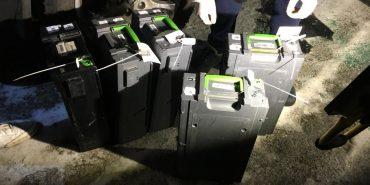 Поліція затримала одного з грабіжників, які викрали з інкасаторської машини 1,8 млн. гривень. ФОТО+ВІДЕО