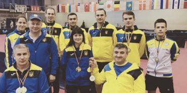 Прикарпатський паралімпієць здобув золото на міжнародному турнірі з настільного тенісу