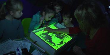 У Коломиї проводять уроки пісочної анімації