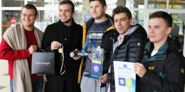 Команда Прикарпатського університету стала найкращою на змаганнях з перегонів автономних роботів
