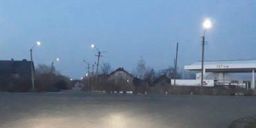 На вул. Франка у Коломиї полагодили вуличне освітлення. ФОТОФАКТ