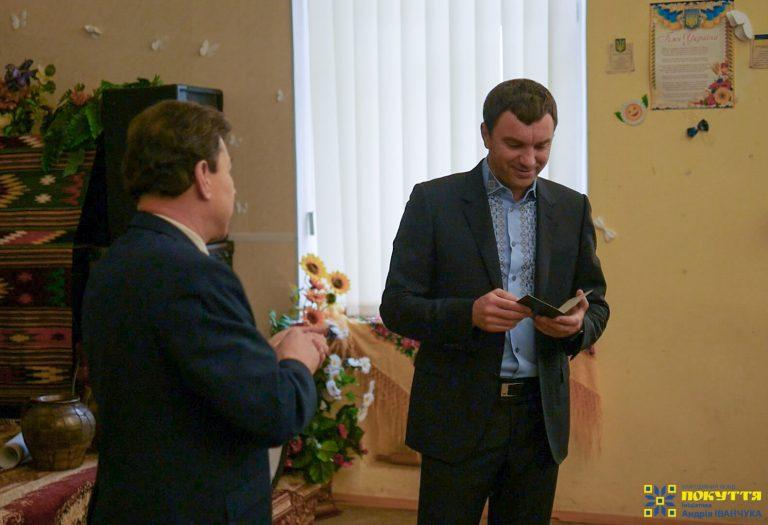 Андрій Іванчук відвідав Коломийський медколедж, який закінчив 30 років тому
